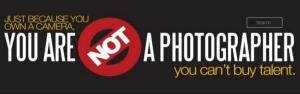 Eine Seite für außergewöhnlich schlechte Fotografien