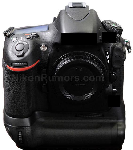 Nikon D800 Front1