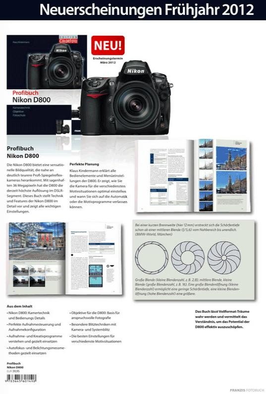 Profibuch Nikon D8001