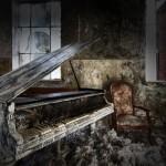 Beelitz-Heilstätten - Badehaus - Klavier1
