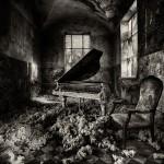 Beelitz-Heilstätten - Badehaus - Klavier2